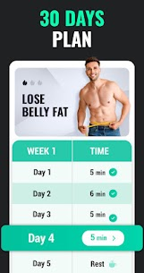Lose Weight App for Men – Weight Loss in 30 Days (MOD APK, Premium) v1.0.39 2