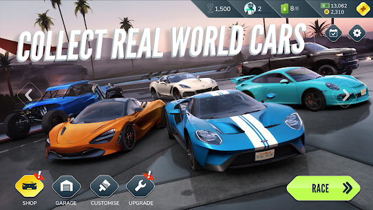 Rebel Racing (MOD APK, Activate Nitro/Frozen AI) v1.90.14282 4