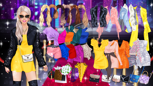 Fashion Videoblogger Makeover - Dress Up & Makeup screenshots 1