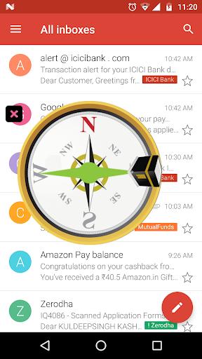 Qibla Compass - Prayer Times, Quran MP3 & Azan 11.6 Screenshots 1