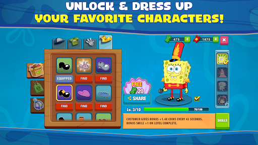 SpongeBob: Krusty Cook-Off 1.0.24 screenshots 6