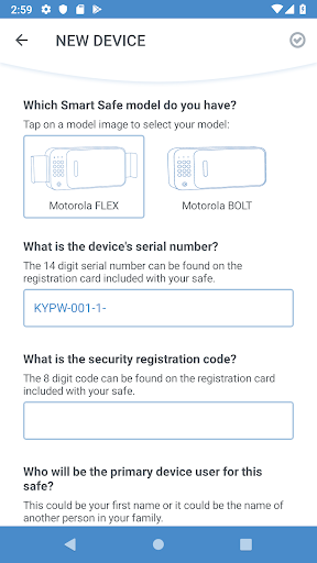 Motorola Smart Safe 2.0.26 Screenshots 7
