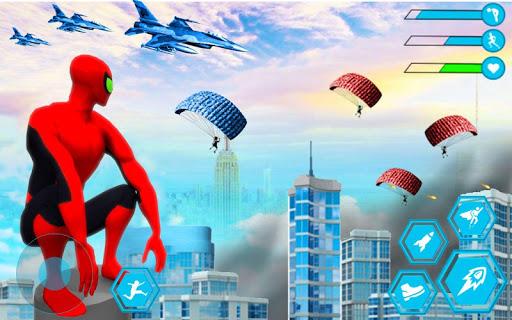 Spider Rope Hero Man: Miami Vise Town Adventure 1.0 Screenshots 1