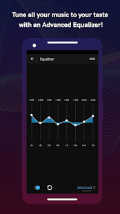 Boom: Music Player, Bass Booster and Equalizer 2.6.1 Screenshots 20
