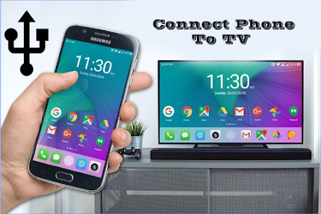 Phone Connect to tv 1