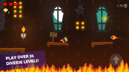 Doge and the Lost Kitten - 2D Platform Game screenshots 1