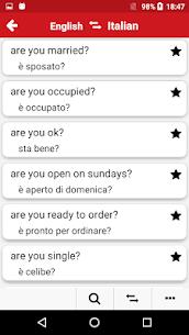 Italian – English : Dictionary & Education 5.2 [Mod + APK] Android 3