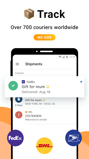 AfterShip Package Tracker - Tracking Packages 5.7.1 Screenshots 1