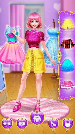 ud83cudfebud83dudc84School Date Makeup - Girl Dress Up  screenshots 8