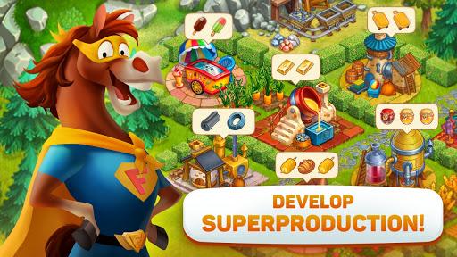 Superfarmers: happy farm & heroes city building ud83cudf3b android2mod screenshots 8
