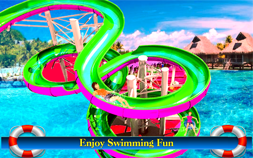Water Slide Games Simulator 1.1.19 screenshots 1
