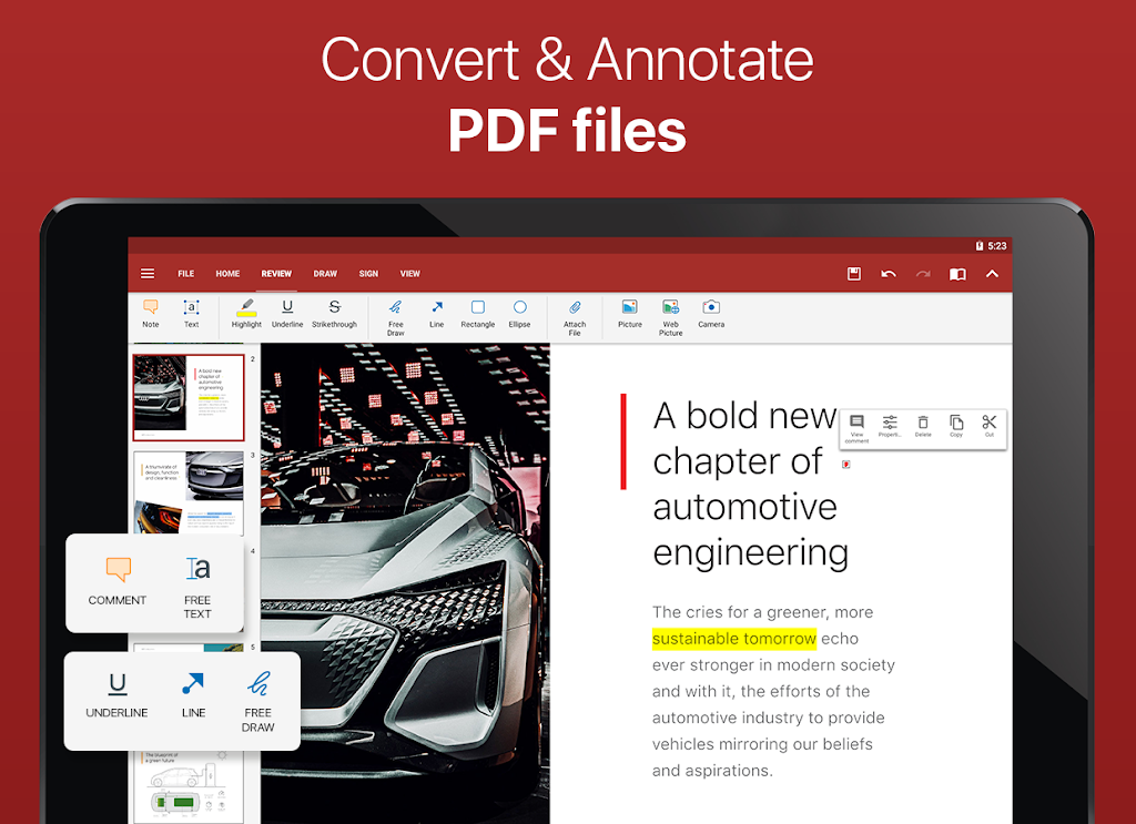 OfficeSuite - Word docs, Excel sheets, PDF & more  poster 17
