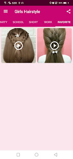 Girls Hairstyle Step By Step