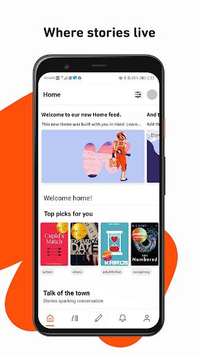 Wattpad - Read & Write Stories  screen 0