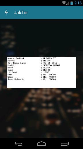 JakTor (Cek Nomor Polisi) 1.1 Screenshots 16