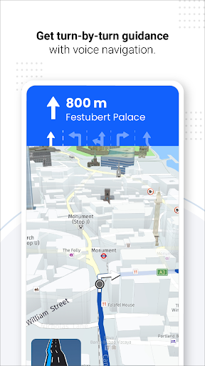 GPS Live Navigation, Maps, Directions and Explore android2mod screenshots 14