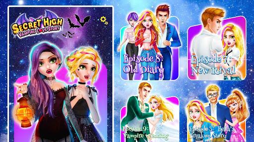 Secret High School Season 2: Vampire Love Story android2mod screenshots 16