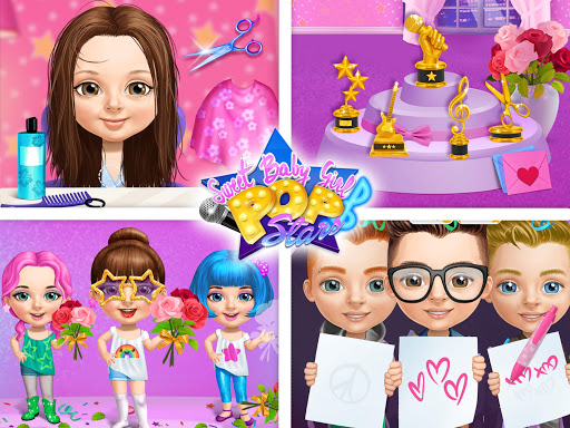 Sweet Baby Girl Pop Stars - Superstar Salon & Show 3.0.10004 screenshots 16