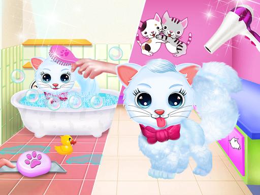 Cute Kitty Daycare Activity - Fluffy Pet Salon 6.0 screenshots 3