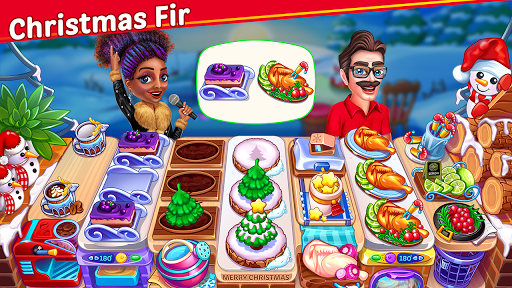 Christmas Cooking : Crazy Restaurant Cooking Games 1.4.42 screenshots 1