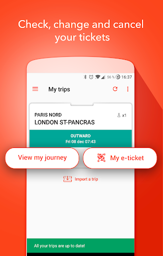 Oui.sncf : Cheap Train & Bus tickets for France 81.04 Screenshots 3