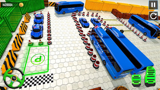 Police Bus Parking Game 3D - Police Bus Games 2019  screenshots 12