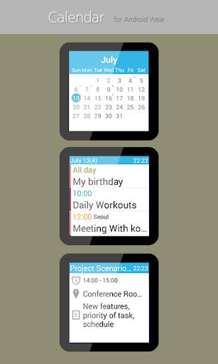Calendar for Wear OS  screenshots 3