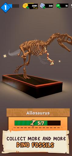 Dino Quest 2: Jurassic bones in 3D Dinosaur World apkpoly screenshots 4