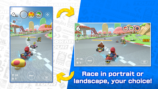 Mario Kart Tour apktreat screenshots 1