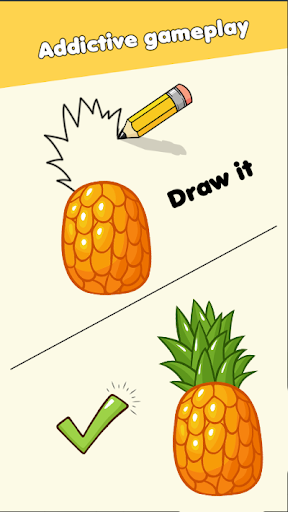 Draw Puzzle - Draw one part apktreat screenshots 2