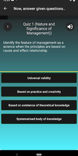 Business Studies XII Class MCQs  screenshots 3