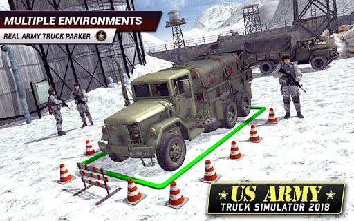US Army Truck Driving 2018: Real Military Truck 3D apkpoly screenshots 12