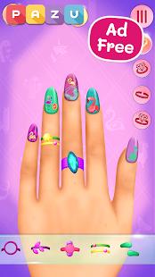 Nail Art Salon - Manicure & jewelry games for kids