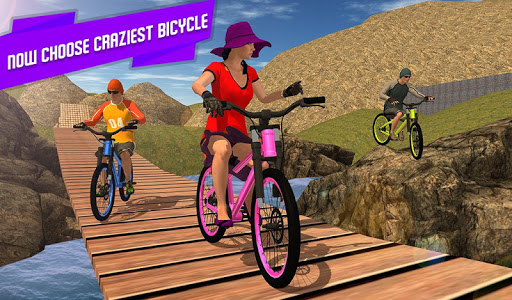 BMX Offroad Bicycle rider Superhero stunts racing screenshots 12