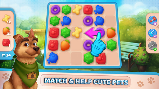 Pet Clinic - Free Puzzle Game With Cute Pets 1.0.2.70 screenshots 4
