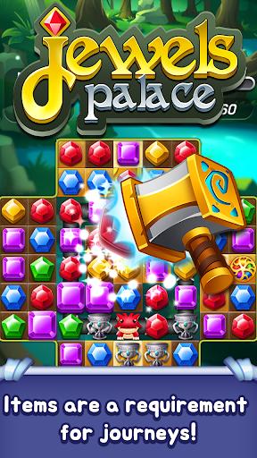 Jewels Palace: World match 3 puzzle master apkslow screenshots 3