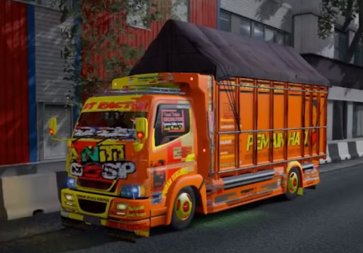 Truck Simulator Indonesia : Livery Truck Bussid android2mod screenshots 4