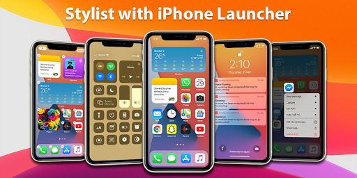 Launcher iPhone 7.2.5 Screenshots 1