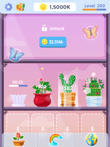 Idle Garden - Garden Paradise Evolution Game apktram screenshots 4