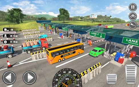 Free City School Bus Simulator 2019  Free driving 3