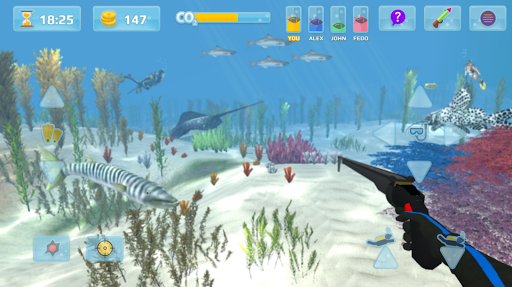 hunter underwater spearfishing screenshot 2