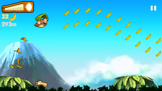 Banana Kong MOD APK 1.9.7.3 (Unlimited bananas, hearts) 7
