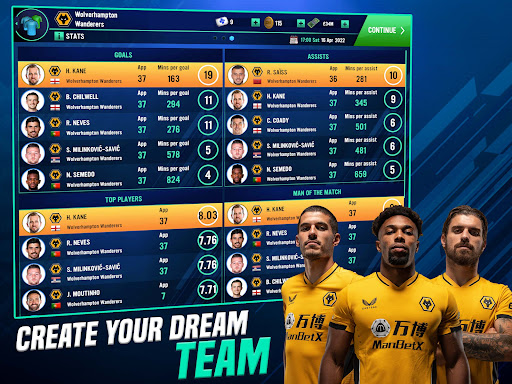 Soccer Manager 2022- FIFPRO Licensed Football Game screenshots 9