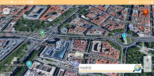 Location Satellite Maps 3.2 Screenshots 8