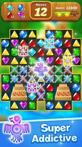 Jewel & Gems Mania 2020 - Match In Temple & Jungle  screenshots 6