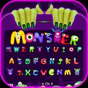 Grimace Monster Keyboard