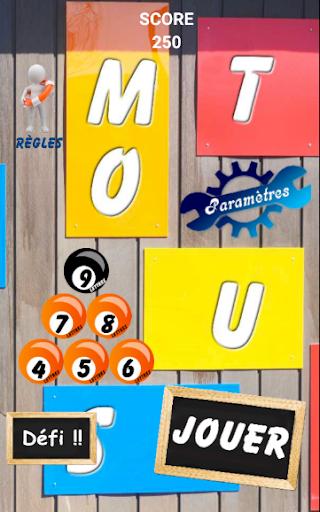 MOTUS - Franu00e7ais Gratuit - Lingo  - Trouve le Mot 4.9 screenshots 9
