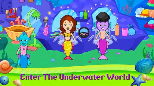 My Tizi Town - Underwater Mermaid Games for Kids 1.0 Screenshots 1