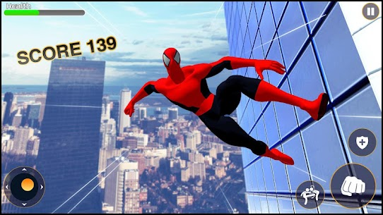 Strange Spider Hero: Miami Rope hero mafia Gangs 3