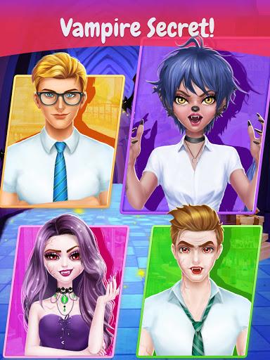 Secret High: Merge Make-Up Story Games For Girls 1.0 screenshots 2
